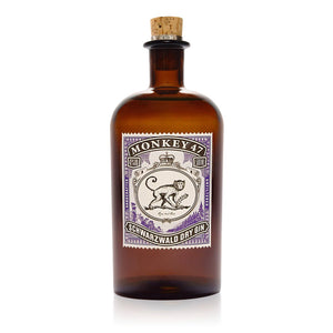 Name: Monkey 47 Volume: 50CL ABV: 47% Notes: Gin