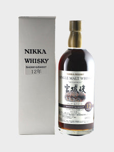Distillery: Miyagikyo Name: 12 Sherry And Sweet ( 500 Ml ) Volume: 50CL ABV: 55.% Notes: Single Malt Origin: Japan