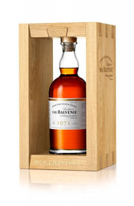 Distillery: The Balvenie Name: Dcs Chapter 4 47 Years ( 1971 ) Volume: 70CL ABV: 49.9% Notes: Special Editions : Scotland Origin: Dufftown, Speyside, Scotland