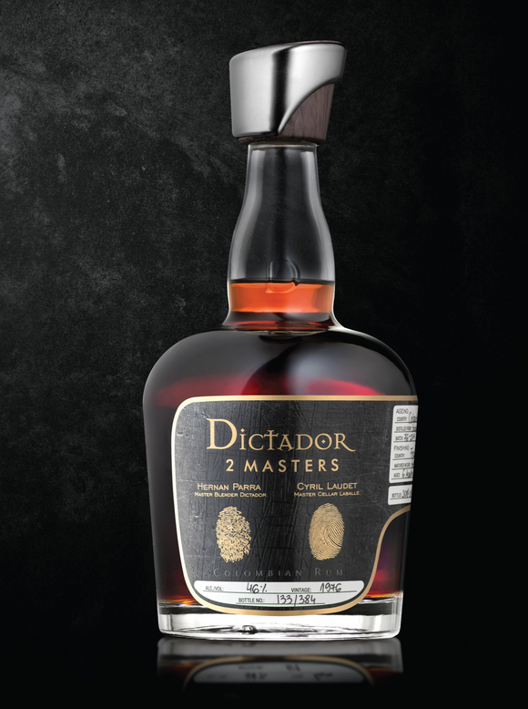 Dictador Rum - Fine And Rare - 2 Masters - Chateau Labelle 1976 - 41 Years