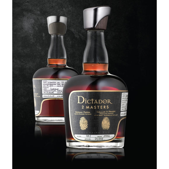 Dictador Rum - Fine And Rare - 2 Masters - Glenfarclas 1972 - 45 Years