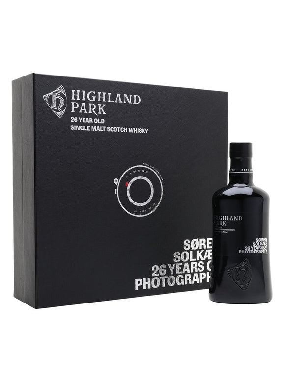 Distillery: Highland Park Name: 26 Years Soren Solkear Edition Volume: 70CL ABV: 40.5% Notes: Single Malt Origin: Kirkwall, Island, Scotland