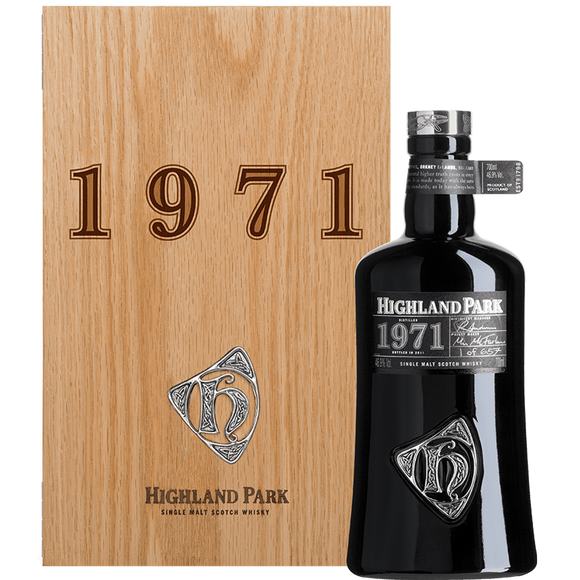 Distillery: Highland Park Name: Orcadian Series 1971 Volume: 70CL ABV: 46.9% Notes: For Sale In Singapore Only Origin: Kirkwall, Island, Scotland