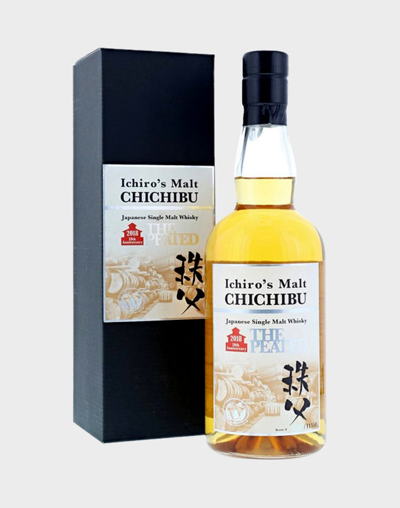 Distillery: Chichibu Name: The Peated' 10Th Anniversary -2018 Volume: 70CL ABV: 55.5% Notes: Single Malt Origin: Japan