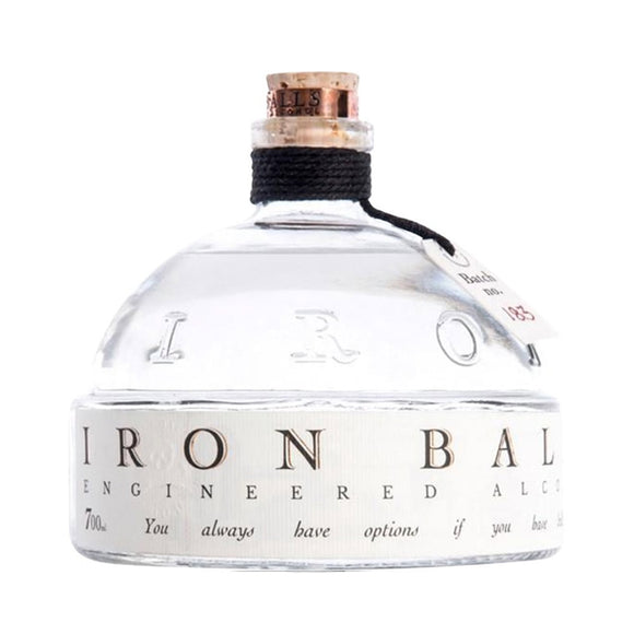 Name: Iron Balls Volume: 70CL ABV: 40% Notes: Gin