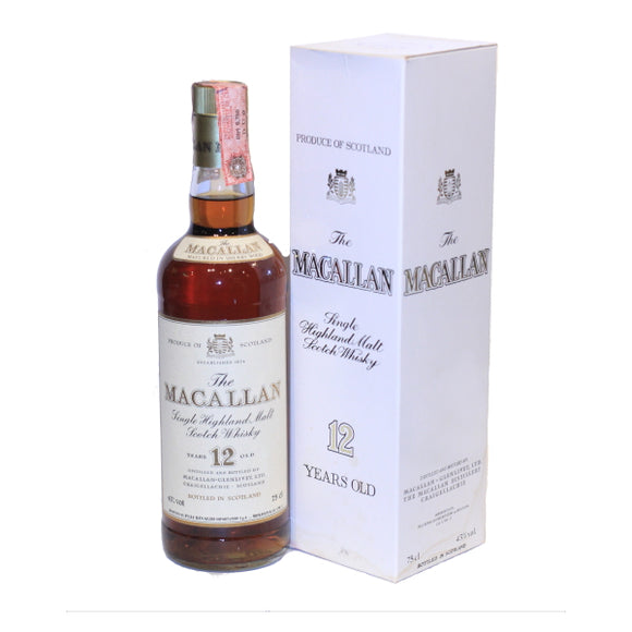 The Macallan - 12 Years 1960S