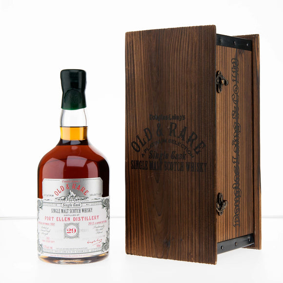 Distillery: Port Ellen Name: 29 Years Douglas Laing Old & Rare Platinum Volume: 70CL ABV: 55.7% Notes: Special Editions : Scotland Origin: Scotland