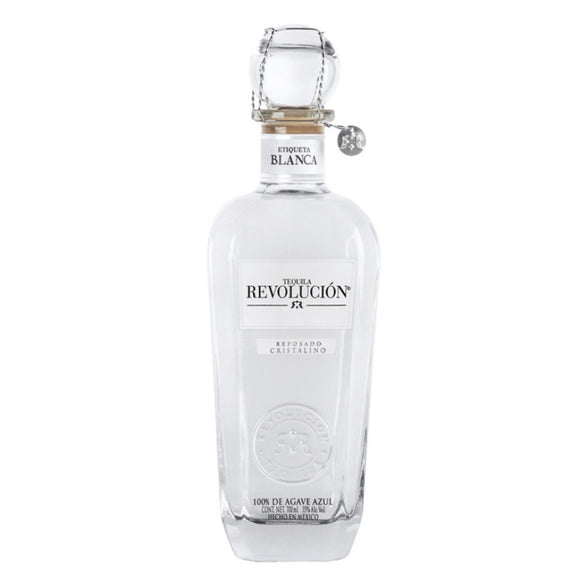 Name: Revolucion Reposado Cristalino Volume: 70CL ABV: 35% Notes: Tequila
