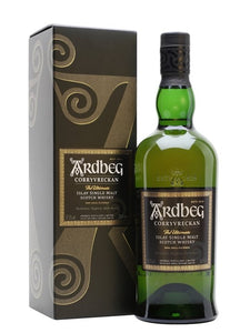 Distillery: Ardbeg Name: Corryvreckan Volume: 70CL ABV: 57.1% Notes: Single Malt Origin: Port Ellen, Islay, Scotland