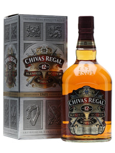 Distillery: Chivas Regal Name: 12 Years Volume: 1L ABV: 40% Notes: Blended Malt Origin: Speyside, Scotland