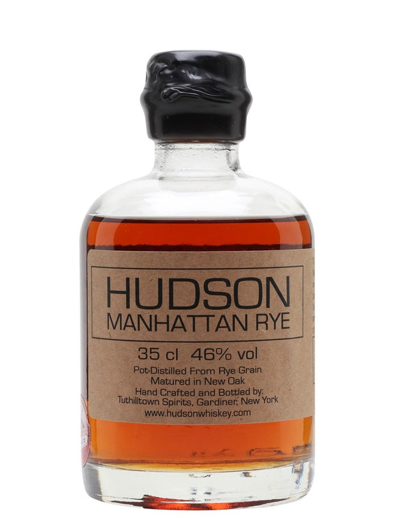 Distillery: Hudson Name: Manhattan Rye Volume: 35CL ABV: 46% Notes: Bourbon Origin: USA