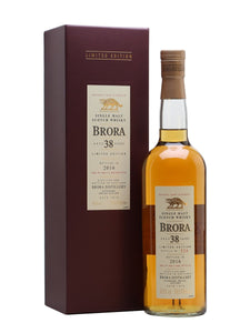 Distillery: Brora Name: 38 Years ( 2016 Special Edition Release ) Volume: 70CL ABV: 48.6% Notes: Special Editions : Scotland Origin: Scotland