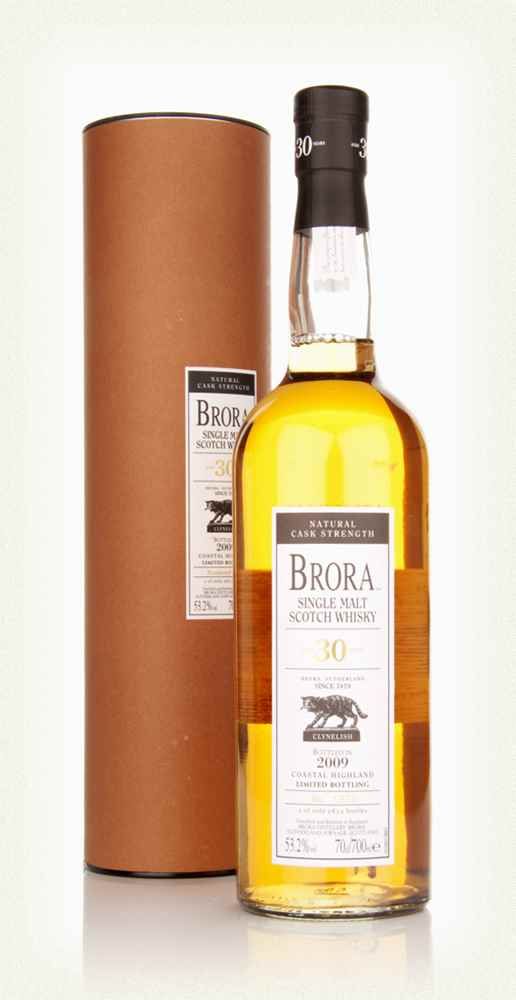 Distillery: Brora Name: 30 Years ( 2009 Special Edition Release ) Volume: 70CL ABV: 53.2% Notes: Special Editions : Scotland Origin: Scotland