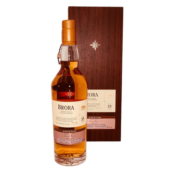 Distillery: Brora Name: 35 Years : Cask Of Distinction Volume: 70CL ABV: 44.2% Notes: Special Editions : Scotland Origin: Scotland