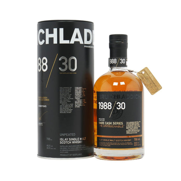 Bruichladdich - Rare Cask: The Untouchable 1988/30 Years