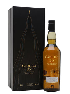Distillery: Caol Ila Name: 35 Years ( Diageo 2018 Special Release ) Volume: 70CL ABV: 58.1% Notes: For Sale In Singapore Only Origin: Port Askaig, Islay, Scotland