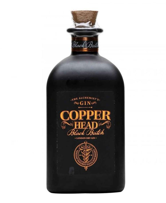 Name: Copperhead Gin: Black Batch Volume: 50CL ABV: 40% Notes: Gin