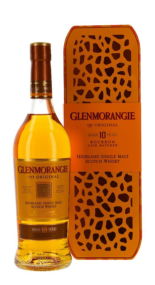 Distillery: Glenmorangie Name: 10 Years The Original With Gift Box Volume: 70CL ABV: 40% Notes: Single Malt Origin: Tain, Highland, Scotland
