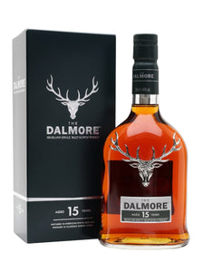 Distillery: The Dalmore Name: 15 Years Volume: 70CL ABV: 40% Notes: Single Malt Origin: Alness, Highland, Scotland