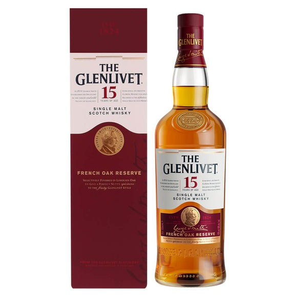 The Glenlivet - 15 years French Oak Reserve