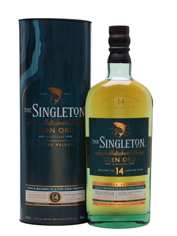 Distillery: Singleton Name: 14 Years ( 2018 Special Release ) Volume: 70CL ABV: 57.6% Notes: Single Malt Origin: Scotland