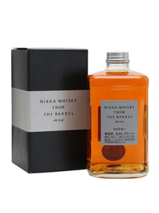 Distillery: Nikka Name: From The Barrel Volume: 50CL ABV: 51.4% Notes: Blended Malt Origin: Japan