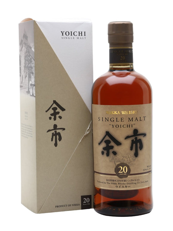 Distillery: Yoichi Name: 20 Years Volume: 70CL ABV: 52% Notes: Special Editions : Japan Origin: Japan