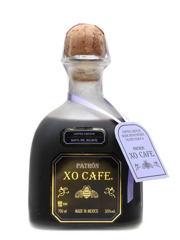 Name: Patron Xo Cafe Volume: 70CL ABV: 35% Notes: Tequila
