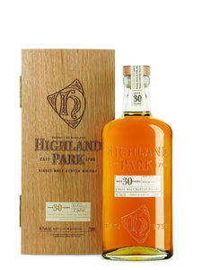 Distillery: Highland Park Name: 30 Years Volume: 70CL ABV: 45.7% Notes: For Sale In Singapore Only Origin: Kirkwall, Island, Scotland