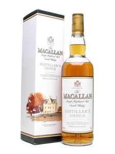 Distillery: The Macallan Name: Distiller's Choice Volume: 70CL ABV: 40% Notes: Special Editions : Scotland Origin: Craigellachie, Speyside, Scotland