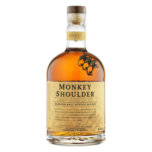Distillery: Monkey Shoulder Name: Blended Malt Volume: 70CL ABV: 40% Notes: Blended Malt Origin: Dufftown, Speyside, Scotland