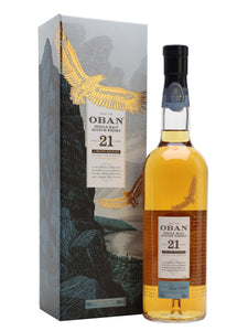 Distillery: Oban Name: 21 Years ( Diageo 2018 Special Release ) Volume: 70CL ABV: 57.9% Notes: For Sale In Singapore Only Origin: Oban, Highland, Scotland