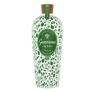 Name: Gin Generous Green Organic Volume: 70CL ABV: 44% Notes: Gin