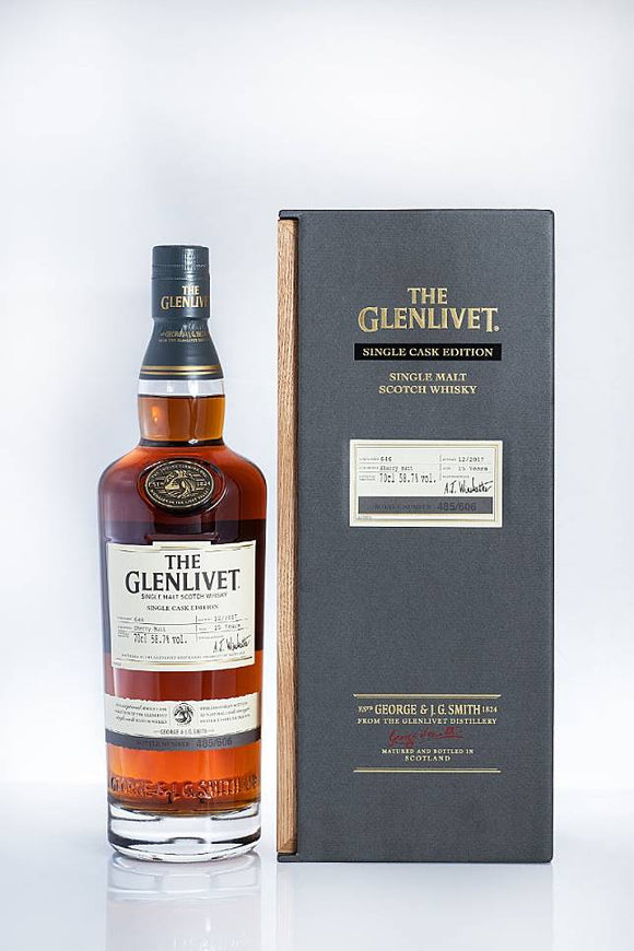 The Glenlivet - Single Cask No. 646