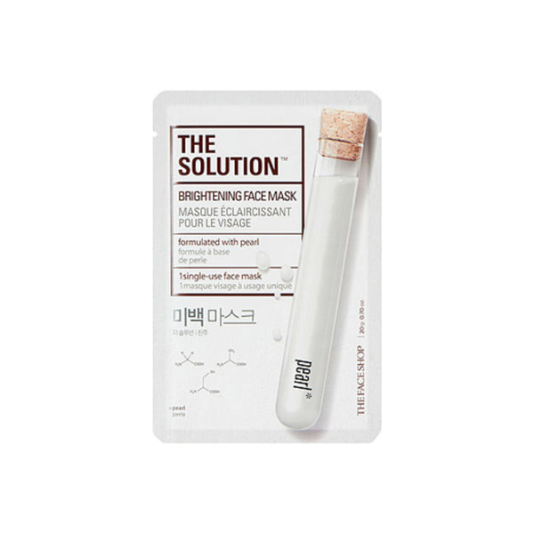 The Solution Face Mask - Whitening Face