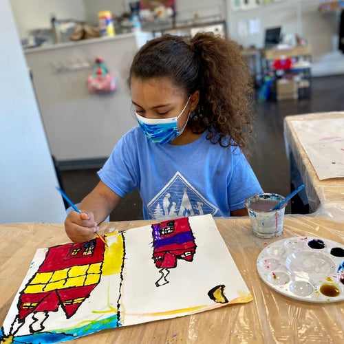 Art Making with Mixed Media (age 7-14) Feb. 20-March 27