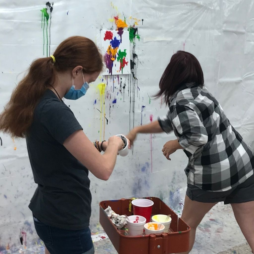 Splatter Away Stress (ages 11-15) March 28