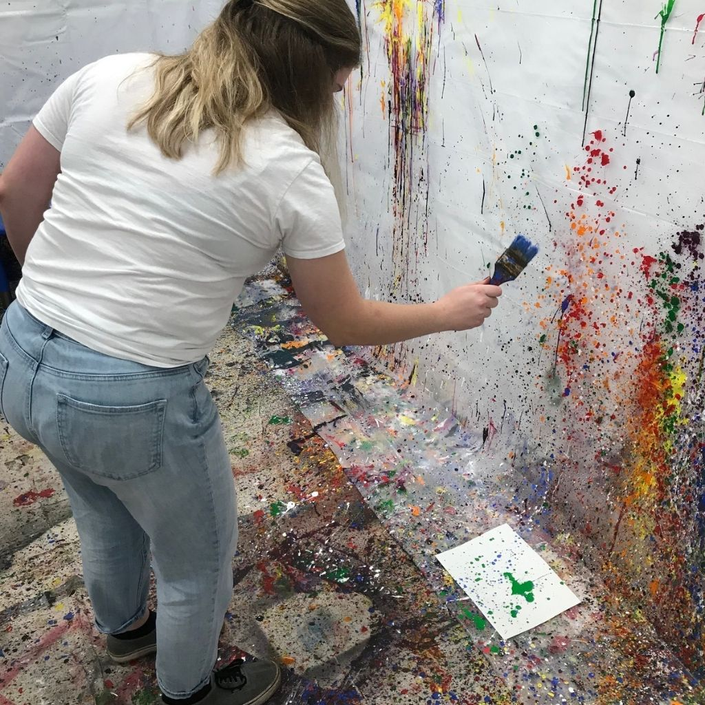 Splatter Away Stress (ages 15-adult): March 14
