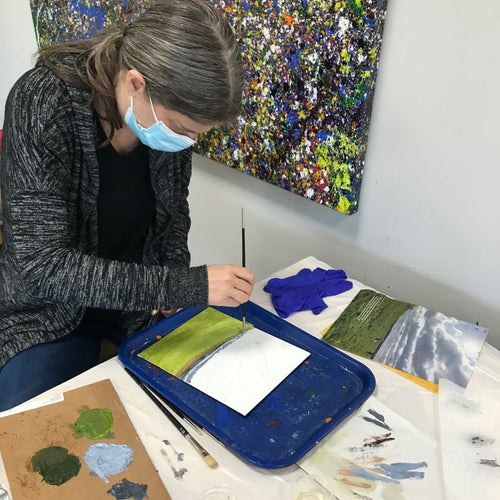 Mixed Media Art Making (age 15-adult) Feb. 21-March 21
