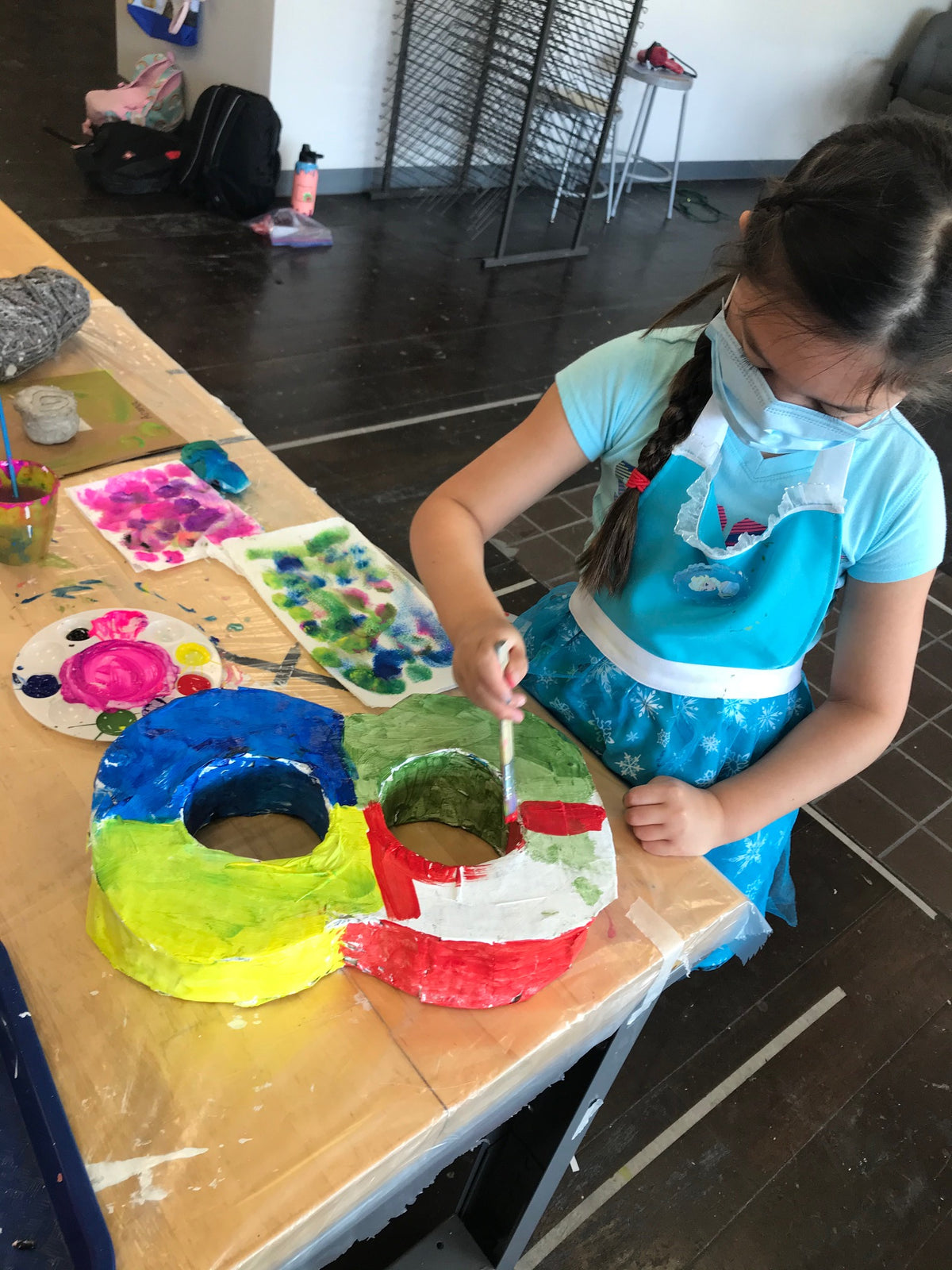 Thursdays, Art Break (age 7-14) 9 weeks (in-studio)