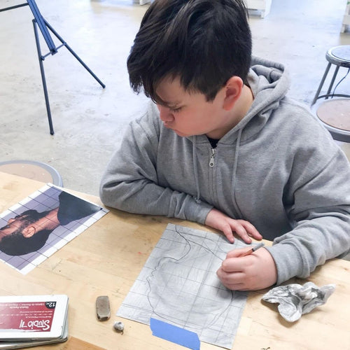 Essentials of Drawing (age 7-14) Feb. 20-March 27