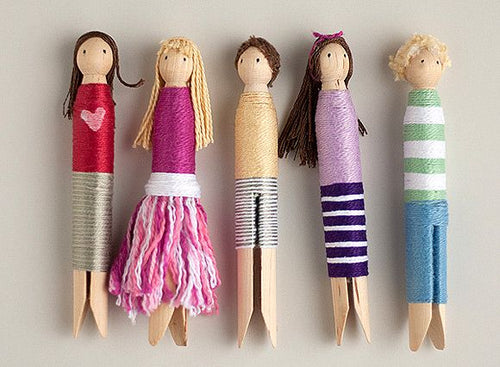 (Wednesday or Thursday) Art Break: Rock painting and Guatemalan worry dolls