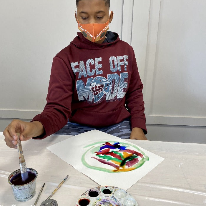 Intro to Watercolor Painting (age 7-14) April 3-May 8