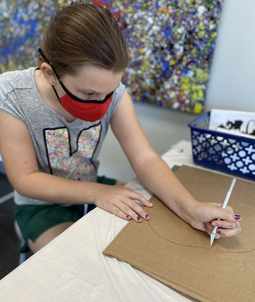 Thursdays, Art Break After School (age 7-14) 9 weeks (in-studio)