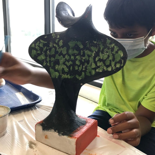 3D Sculpture Art Summer camp (age 6-14) June 21-25