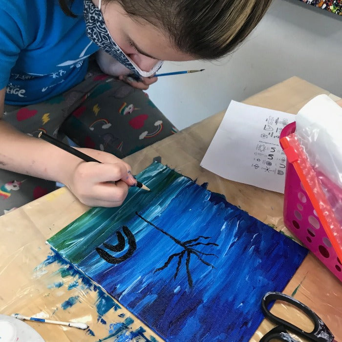Painting Extravaganza Summer camp (age 6-14) June 28-July 2
