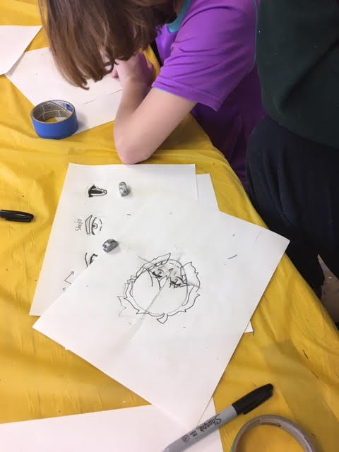 Develop your doodles: Make art out of your sketches (age 7-14) in-person (Saturdays Oct. 31-Dec. 12)