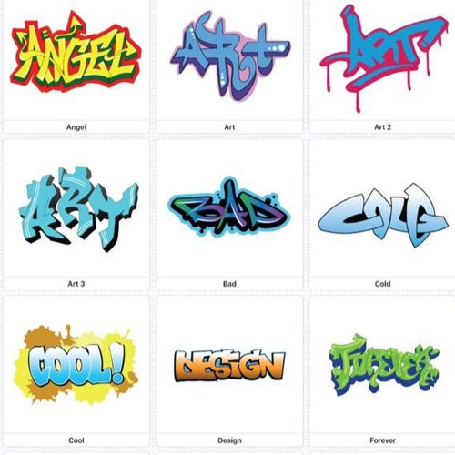 Graffiti Spring Break camp (age 6-14) April 5