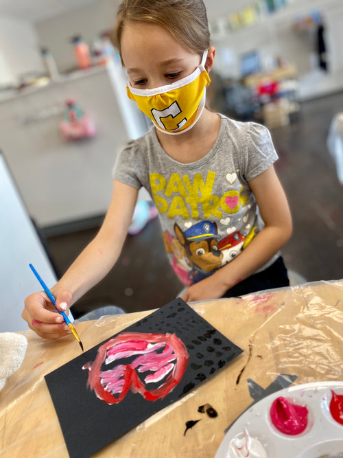 Art Exploration (age 4-7) in-person (Saturdays Oct. 31-Dec. 12)