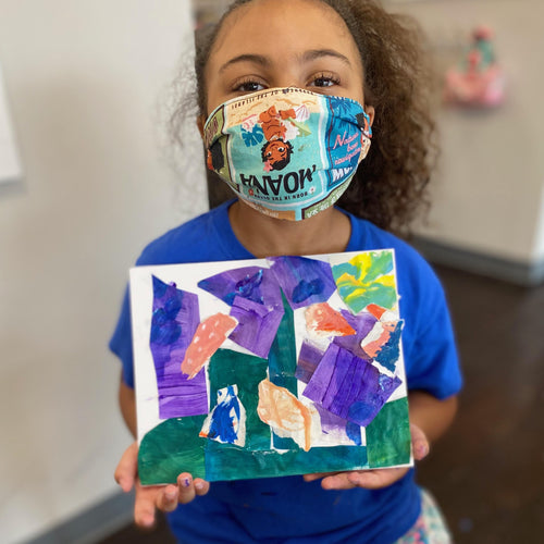 Painting Spring Break camp (age 6-14) April 6